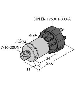 PT750PSIG-1005-I2-DA91