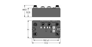 BLCDP-2M12MT-2RFID-A