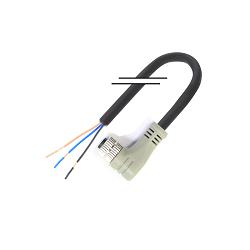 M8/3芯/母头/弯头/5米/PVC (MD-M0803MW-05000-PVC)