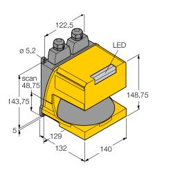 Banner 邦纳 AG4-4E 识别传感器